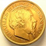 Монако 100 франков 1886 г., фото №2