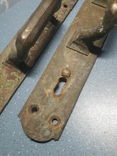 Две старинные дверные ручки, Каменев в Туле, фото №3
