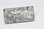 """Кулон """"Зодіак Кінь"""" з  метеорита Aletai, 40,9 грам, із сертифікатом автентичності, фото №6"""