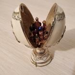 Яйцо-сувенир в стиле Фаберже, фото №3