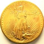США 20 долларов 1907 г., фото №2