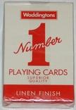 """Игральные карты """"Waddingtons №1"""" (полная колода,54 листа) Англия"""