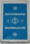 """Игральные карты """"Saarberg"""" (сокращ.колода,32 листа) Германия"""