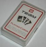 """Игральные карты """"Team"""" 2000-х (полная колода.,54 листа) Англия фото 4"""