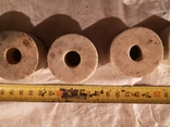 Точильные шлифовальные цилиндрические круги камень абразив, фото №3