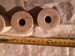 Точильные шлифовальные цилиндрические круги камень абразив, фото №4