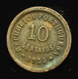 Португалия 10 сентавос 1925, фото №3