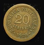 Португалия 20 сентавос 1925, фото №3