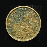 Нидерланды 1/2 цента 1909, фото №3