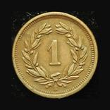 Швейцария 1 раппен 1895, фото №3