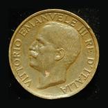 Италия 10 чентезими 1921, фото №2