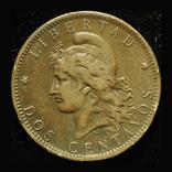 Аргентина 2 сентаво 1884, фото №3