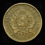 Аргентина 2 сентаво 1884, фото №2