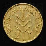 Палестина 2 милс 1927 aUnc, фото №3