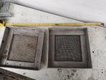 Решетки металлические алюминиевые сетка для вытяжки 2 шт, фото №7