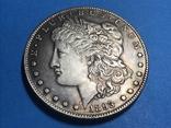 1 доллар сша 1893 СС. Копия, фото №2