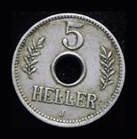 Германская Африка 5 геллеров 1914 J, фото №3
