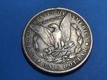 1 доллар сша 1883 СС. Копия, фото №3