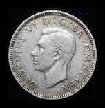 Великобритания шиллинг 1942 серебро, фото №3