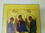 Акварельная работа+гуашь на тему Святая троица. 295х420мм (9.20), фото №4