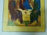 Акварельная работа+гуашь на тему Святая троица. 295х420мм (9.20), фото №5