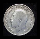 Великобритания шиллинг 1920 серебро, фото №2