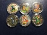 Монеты .Год крысы. Знаки зодиака 2020 г. Копии, фото №4
