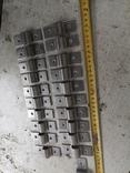 Металлические петли для шпингалета алюминиевый алюминий, фото №2