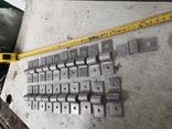 Металлические петли для шпингалета алюминиевый алюминий, фото №3