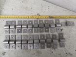 Металлические петли для шпингалета алюминиевый алюминий, фото №4