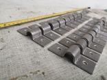 Металлические петли для шпингалета алюминиевый алюминий, фото №6