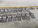 Металлические петли для шпингалета алюминиевый алюминий, фото №8