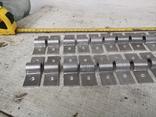 Металлические петли для шпингалета алюминиевый алюминий, фото №9
