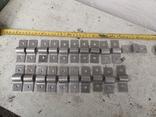 Металлические петли для шпингалета алюминиевый алюминий, фото №12