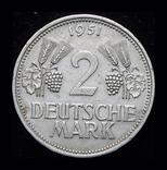 Германия 2 марки 1951 D редкий тип, фото №2