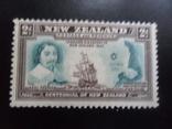 Корабли. Новая Зеландия. 1940 г. Парусники.  марка MVL, фото №2