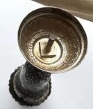 Серебряная иностранная вазочка 900 проба, фото №5