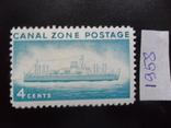 Корабли. Зона Панамского канала. 1958 г.  МН, фото №2
