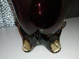 Конфетница (СССР,цветное стекло), фото №5