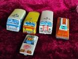 Машинки жестяные СССР Скорая Милиция Аварийная Молния+заводная, фото №2