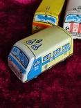 Машинки жестяные СССР Скорая Милиция Аварийная Молния+заводная, фото №3
