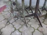 Стільчики виробничі чугунні 12 шт, фото №3