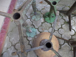 Стільчики виробничі чугунні 12 шт, фото №8