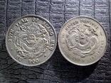 3 мейса и 6 кандаринов Хубей1895 года КопияМонета Императора Гуансю(Хупо)1903 года Копия, фото №3