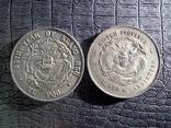 3 мейса и 6 кандаринов Хубей1895 года КопияМонета Императора Гуансю(Хупо)1903 года Копия, фото №2