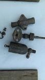 Детали паровой установки(машины)+2 бронз.ручки, фото №4