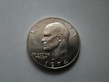 США 1 доллар 1974 S Эйзенхауэр / серебро, фото №4