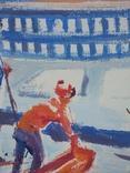 """В.Кнышевский""""Каникулы"""", х.м.45*50см, фото №3"""