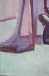 "В.Кнышевский""Секунда и гол"", х м.40*50см, 1980г, фото №4"
