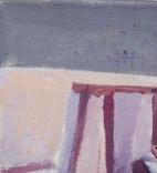 "В.Кнышевский""Секунда и гол"", х м.40*50см, 1980г, фото №8"